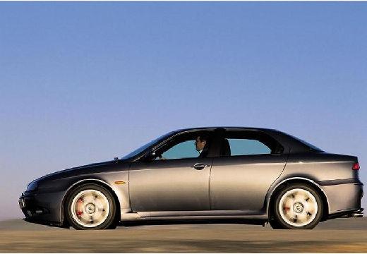 ALFA ROMEO 156 II sedan szary ciemny boczny lewy