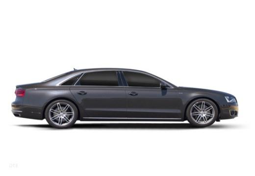 AUDI A8 D4 I sedan boczny prawy