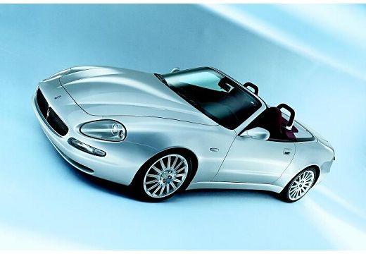 MASERATI 4200 Spyder roadster silver grey przedni lewy