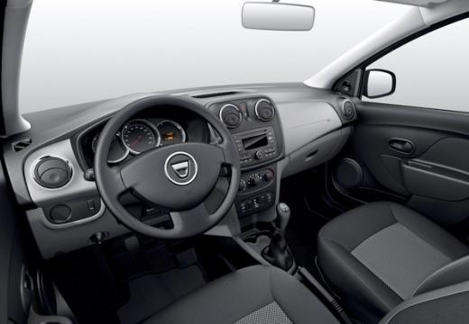 DACIA Sandero II hatchback tablica rozdzielcza