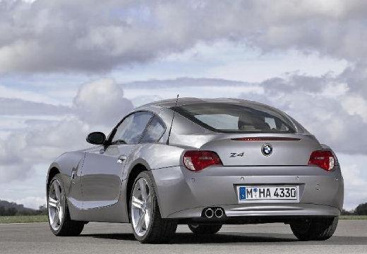 BMW Z4 coupe silver grey tylny lewy