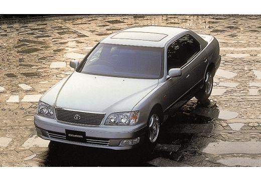 LEXUS LS 400 II sedan silver grey przedni lewy