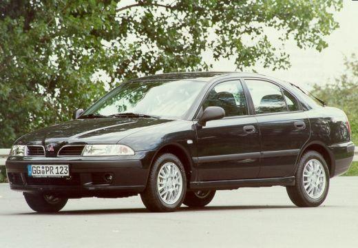 MITSUBISHI Carisma II hatchback czarny przedni prawy