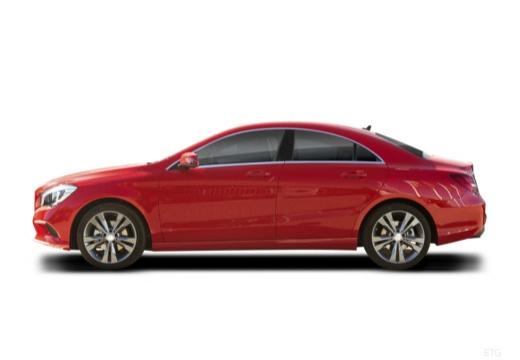 MERCEDES-BENZ Klasa CLA sedan boczny lewy