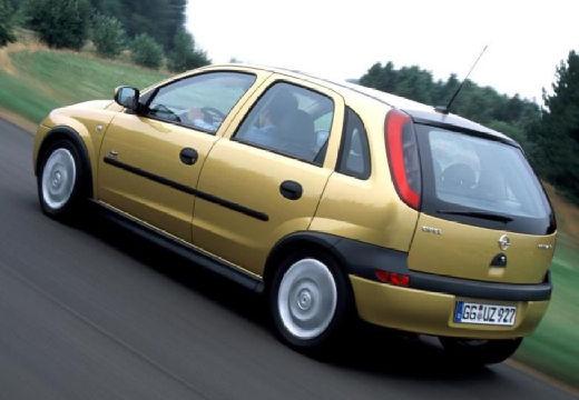OPEL Corsa C I hatchback złoty tylny lewy