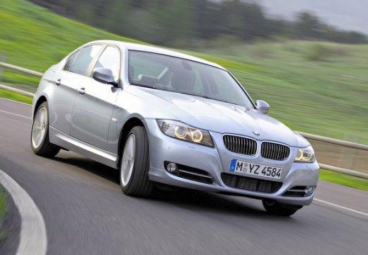 BMW Seria 3 E90 II sedan szary ciemny przedni prawy
