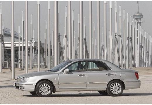 HYUNDAI XG sedan silver grey przedni lewy
