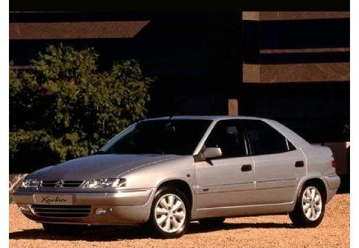 CITROEN Xantia II hatchback silver grey przedni lewy