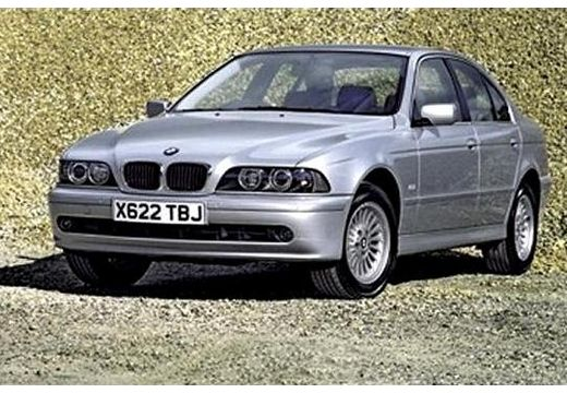 BMW Seria 5 E39/4 sedan silver grey przedni lewy