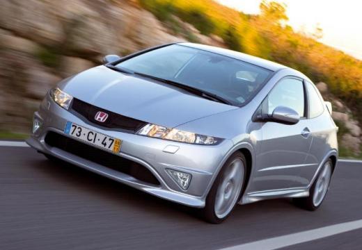 HONDA Civic VI hatchback silver grey przedni prawy