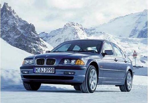 BMW Seria 3 E46 sedan niebieski jasny przedni lewy