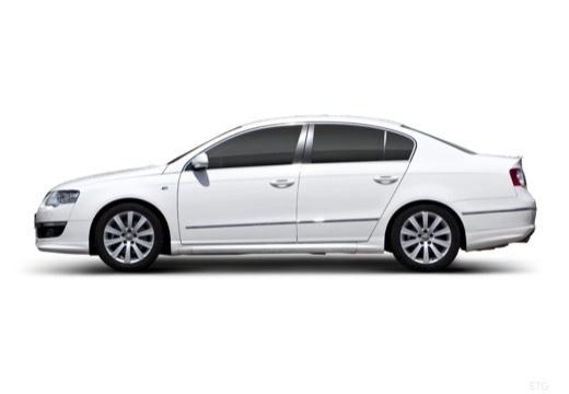 VOLKSWAGEN Passat V sedan biały boczny lewy
