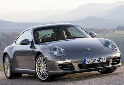 PORSCHE 911 997 coupe szary ciemny przedni prawy