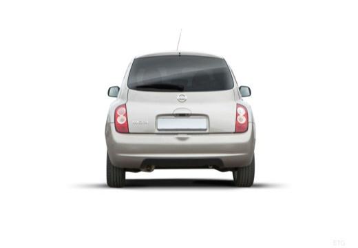 NISSAN Micra VII hatchback tylny
