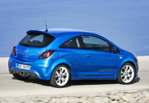 OPEL Corsa D I hatchback niebieski jasny tylny prawy
