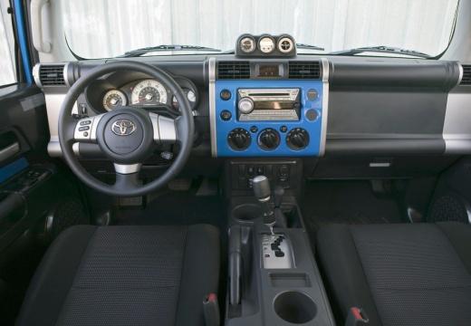 Toyota FJ Cruiser kombi tablica rozdzielcza