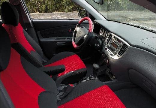 KIA Rio III sedan wnętrze