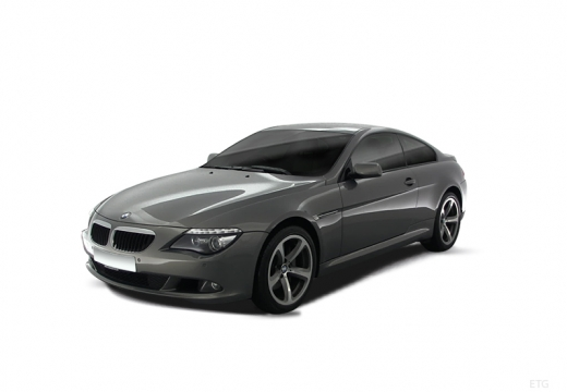 BMW Seria 6 E63 II coupe szary ciemny