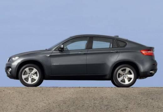 BMW X6 X 6 E71 hatchback szary ciemny boczny lewy