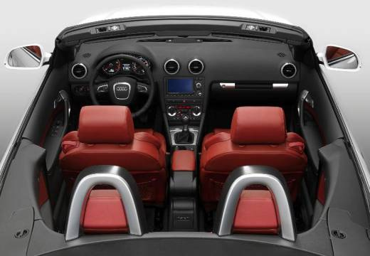 AUDI A3 Cabriolet kabriolet wnętrze