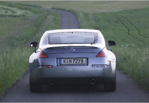 NISSAN 350 Z coupe silver grey tylny