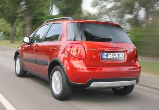 SUZUKI SX4 II hatchback czerwony jasny tylny lewy