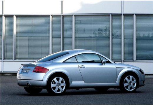 AUDI TT 8N coupe silver grey tylny prawy