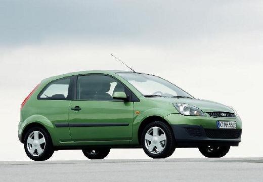 FORD Fiesta VI hatchback zielony jasny przedni prawy