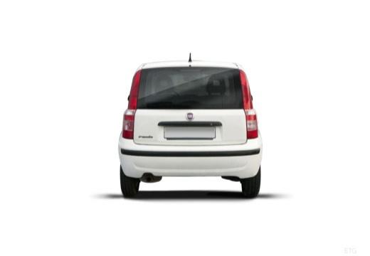 FIAT Panda II hatchback biały tylny