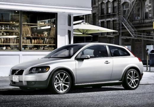 VOLVO C30 I hatchback silver grey przedni lewy