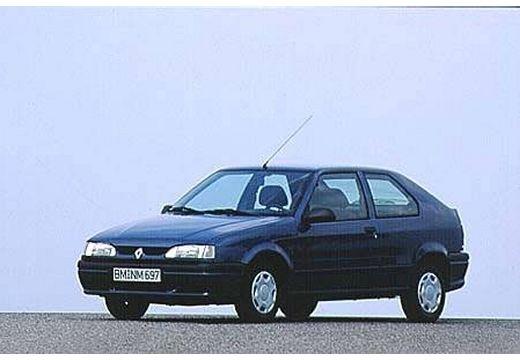 RENAULT R19 hatchback niebieski jasny przedni lewy