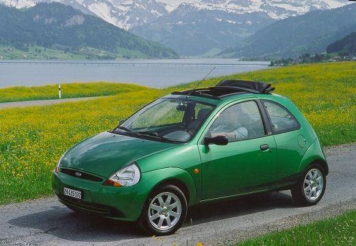 FORD Ka hatchback zielony przedni lewy