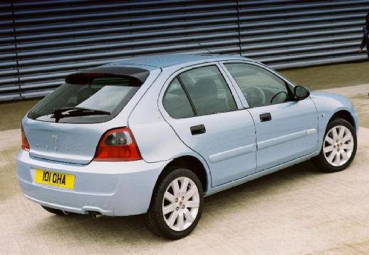 ROVER 25 hatchback niebieski jasny tylny prawy
