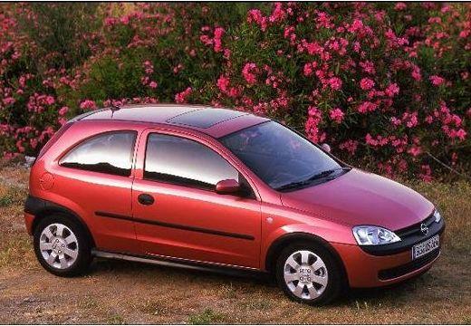 OPEL Corsa C I hatchback czerwony jasny przedni prawy