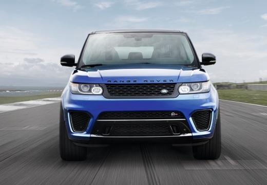 LAND ROVER Range Rover Sport IV kombi niebieski jasny przedni