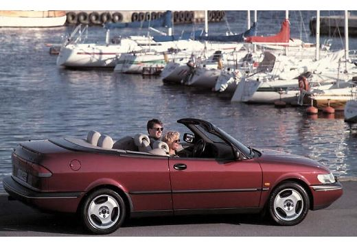 SAAB 900 Cabriolet kabriolet boczny prawy