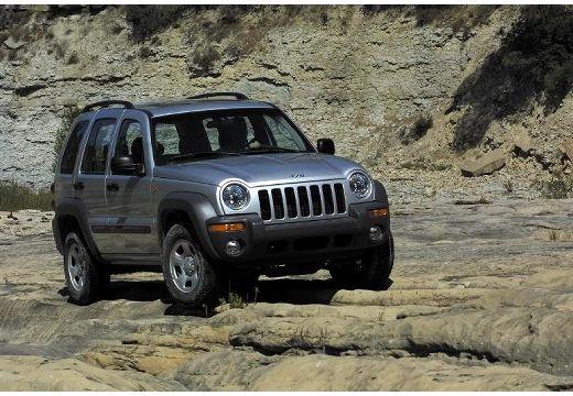 JEEP Cherokee II kombi silver grey przedni prawy