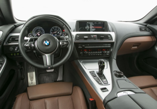 BMW Seria 6 Cabriolet F12 II kabriolet tablica rozdzielcza