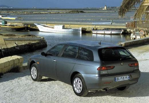 ALFA ROMEO 156 Sportwagon II kombi szary ciemny tylny lewy