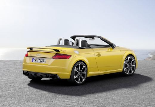 AUDI TT III roadster żółty tylny prawy