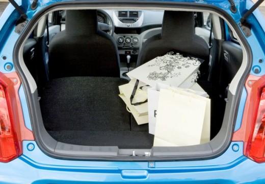 SUZUKI Alto IV hatchback przestrzeń załadunkowa