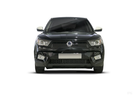 SSANG YONG Tivoli hatchback czarny przedni