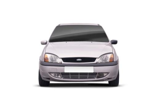 FORD Fiesta IV hatchback silver grey przedni