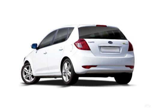 KIA Ceed II hatchback biały tylny lewy