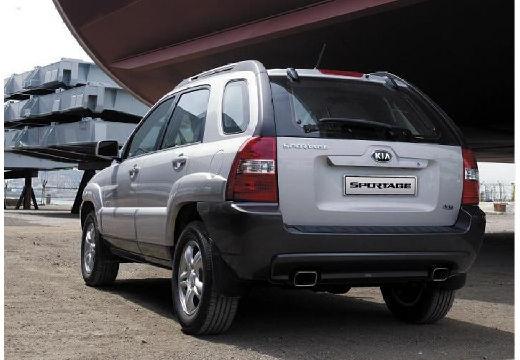 KIA Sportage II kombi silver grey tylny lewy