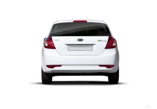 KIA Ceed II hatchback biały tylny