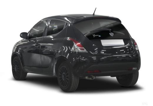 LANCIA Ypsilon III hatchback czarny tylny lewy