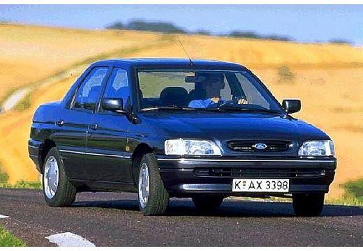 FORD Escort I sedan czarny przedni prawy