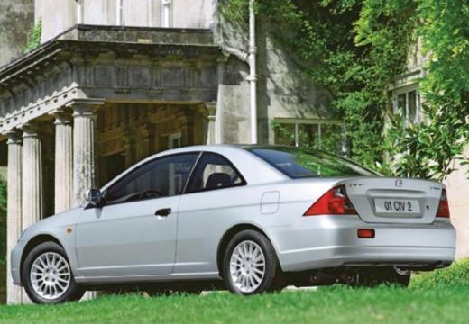 HONDA Civic coupe silver grey tylny lewy