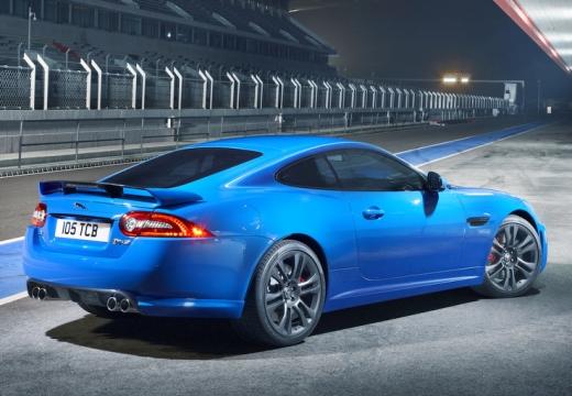 JAGUAR XK II coupe niebieski jasny tylny prawy